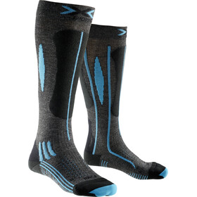 X-Bionic Effektor Race Ski Socks Ladies Grey/Black/Turquoise